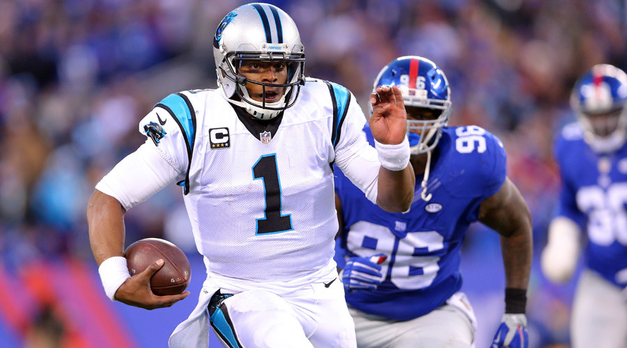 Carolina Panthers quarterback Cam Newton (1) © Brad Penner