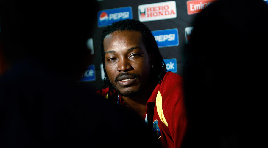 Cricketer Chris Gayle made the comments during a game in Hobart. © Dinuka Liyanawatte
