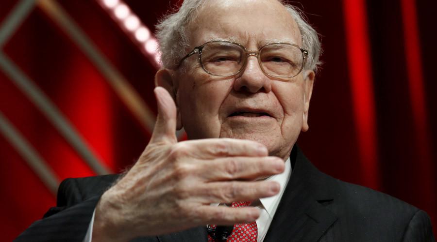 Warren Buffett © Kevin Lamarque
