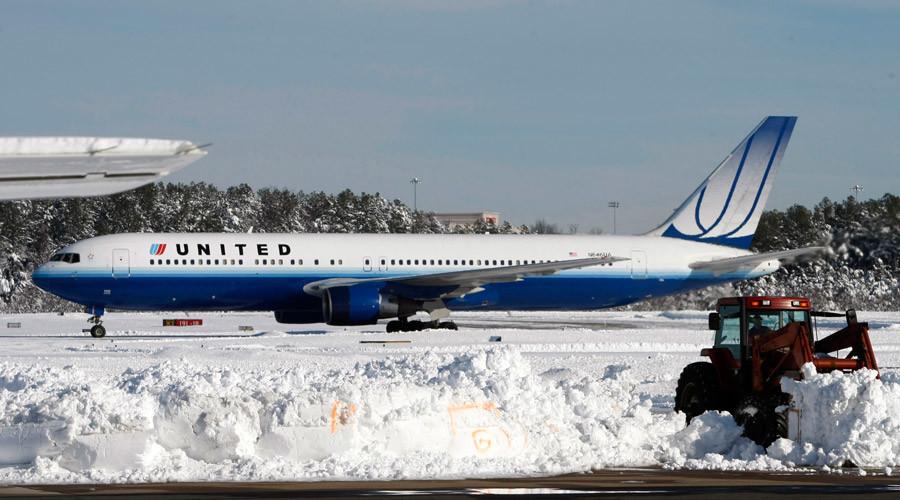 Denver-bound plane skids off runway in Spokane, Wash.