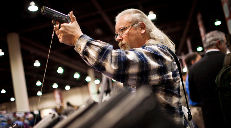 Smith & Wesson stocks peak, gun sales rise amid Obama's actions on firearms