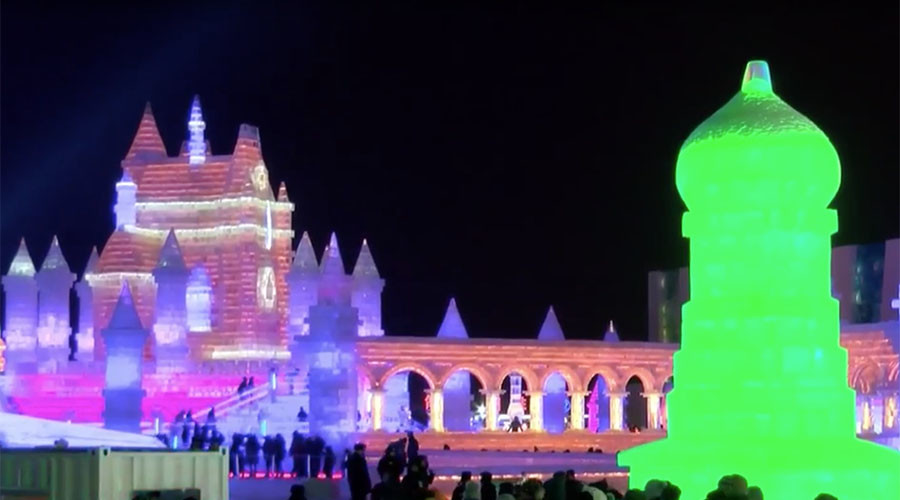 Frozen fairytale: Magical Ice & Snow Festival kicks off in China (PHOTOS, VIDEO)