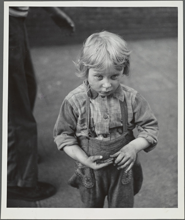 "Kid ""Family of Man"", Lower East Side 1953"