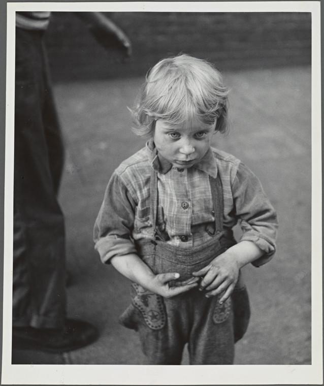 "Kid ""Family of Man"", Lower East Side 1953"