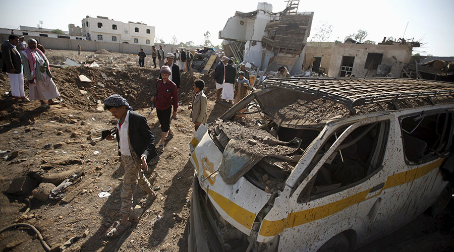 US-made cluster bombs used by Saudi-led coalition in Yemen attacks - HRW