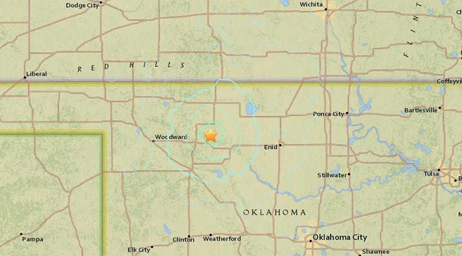 Multiple 4.0+ magnitude earthquakes hit Northwest Oklahoma