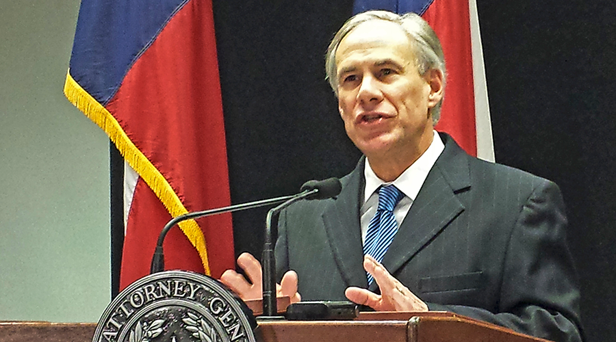 Texas Attorney General Greg Abbott © Jon Herskovitz