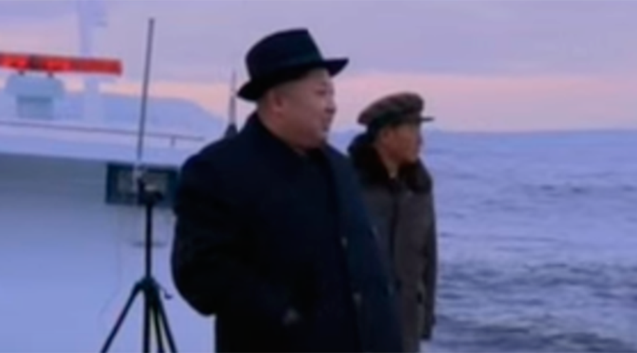 N. Korea demonstrates new submarine ballistic missile test (VIDEO)