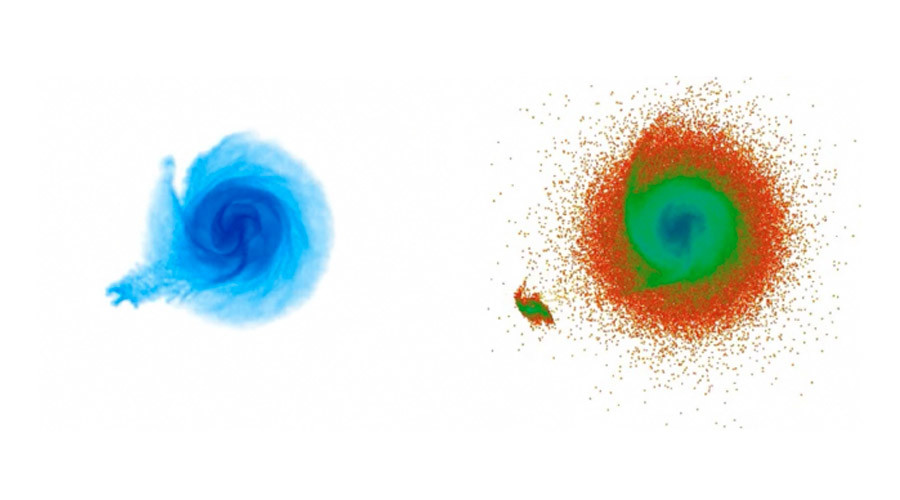 Dwarf galaxy caused gas ripples in the Milky Way, astronomers say