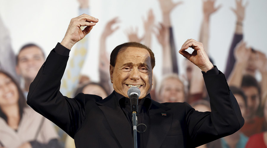Berlusconi plots Italian political comeback and aims to oust PM Renzi