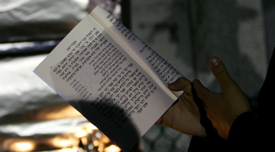 FILE PHOTO: A book in Hebrew © Shannon Stapleton