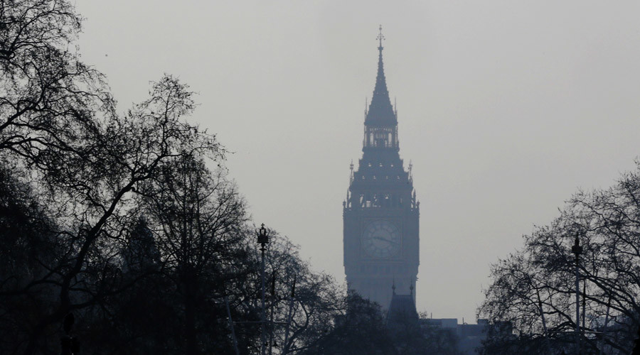 London breaks EU air pollution limits for 2016 in 'just 8 days'