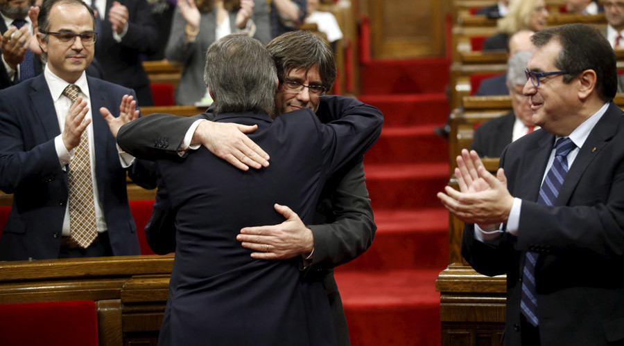Catalonia parliament elects new 'separatist' leader