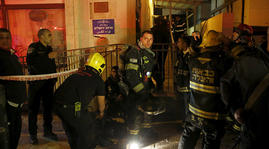 Israeli rights group B'Tselem Jerusalem office torched in suspected arson