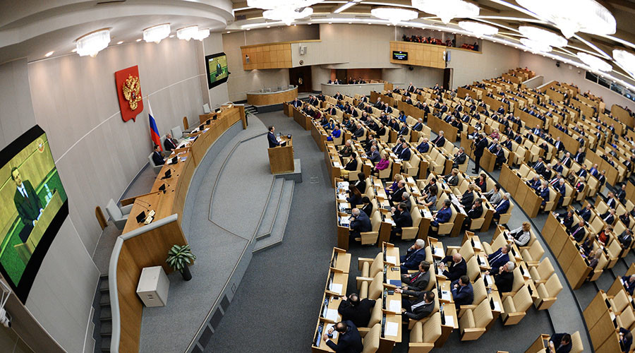 Gag order: Excessively talkative Russian lawmakers may face sanctions