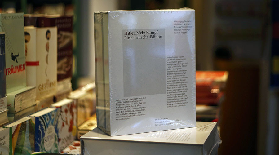 4,000 freshly-printed copies of Hitler's Mein Kampf sell out in Germany within a week