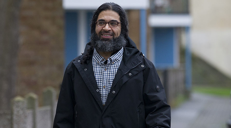 Shaker Aamer, the last British resident held at Guantanamo Bay. © Justin Tallis