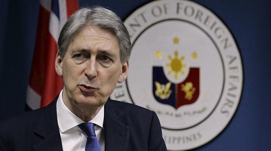 British Foreign Secretary Philip Hammond. ©Czar Dancel