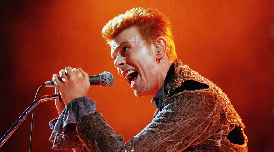Let's Dance: Bowie fans honor 'Starman' at London 'shrine'