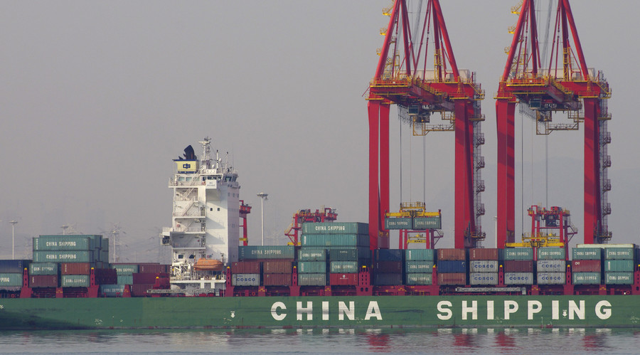 Chinese exports up for first time since June