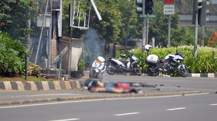 Suspected ISIS attacks in Jakarta