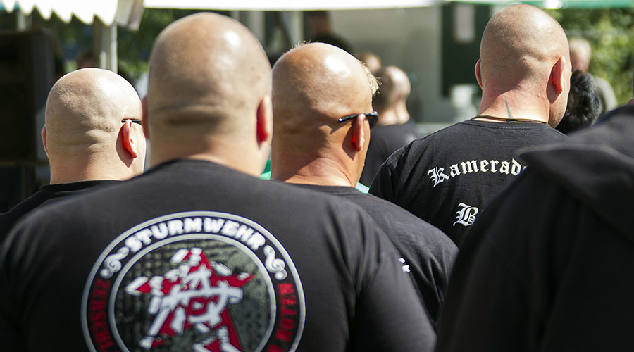 German neo-Nazis charged with plans to nail-bomb refugee shelters, kill clerics