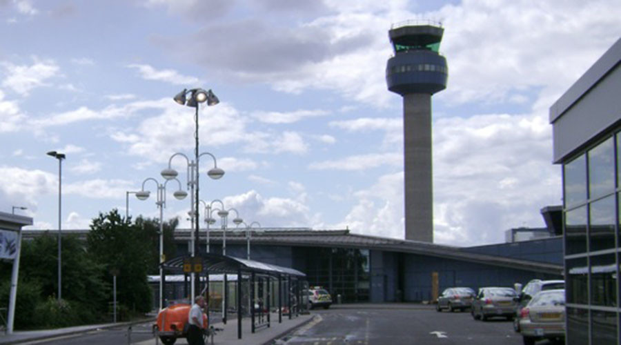 East Midlands Airport. © Wikipedia