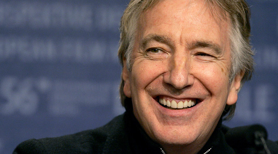 Alan Rickman died in London aged 69. © Arnd Wiegmann