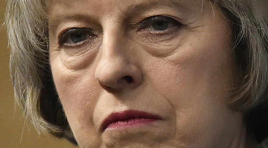 Britain's Home Secretary Theresa May. ©Toby Melville