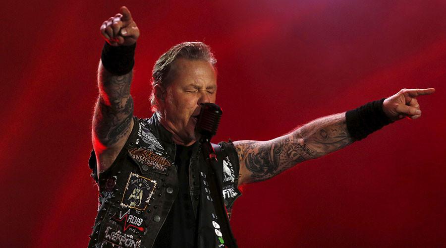 James Hetfield of Metallica. ©Pilar Olivares