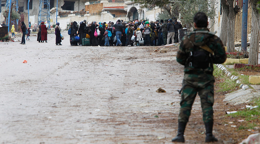 'Starvation as a weapon is a war crime': UN head blasts warring sides in Syria