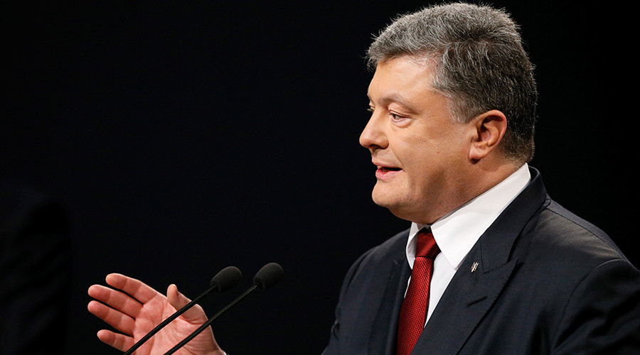 Ukrainian President Petro Poroshenko © Gleb Garanich
