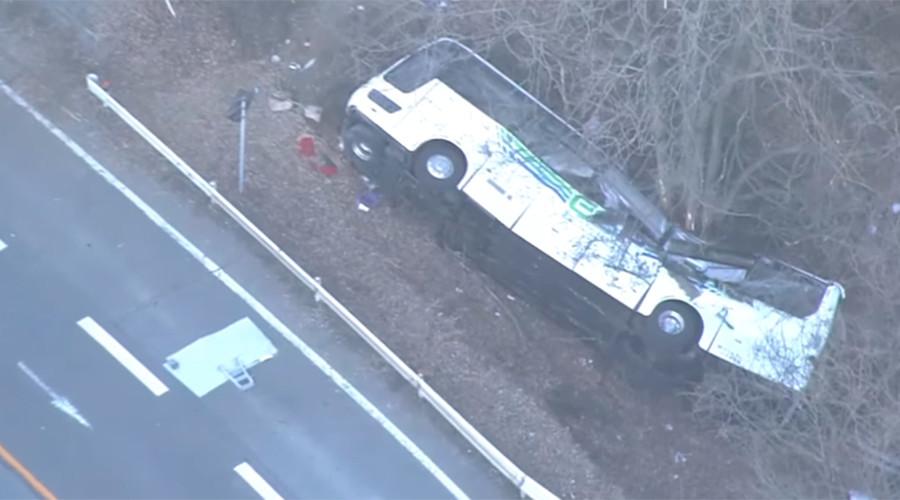 Over dozen tourists feared dead in Japan ski resort bus crash – reports