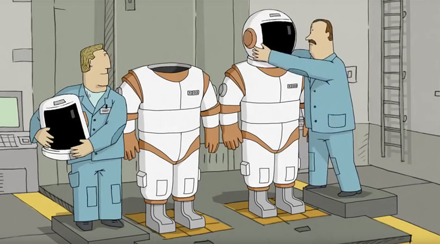 First in space: Russian animated film 'We Can't Live Without Cosmos' gets Oscar nod
