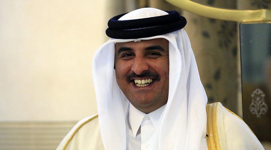 Qatar's Emir Sheikh Tamim bin Hamad al-Thani. ©Mohamed Nureldin Abdallah