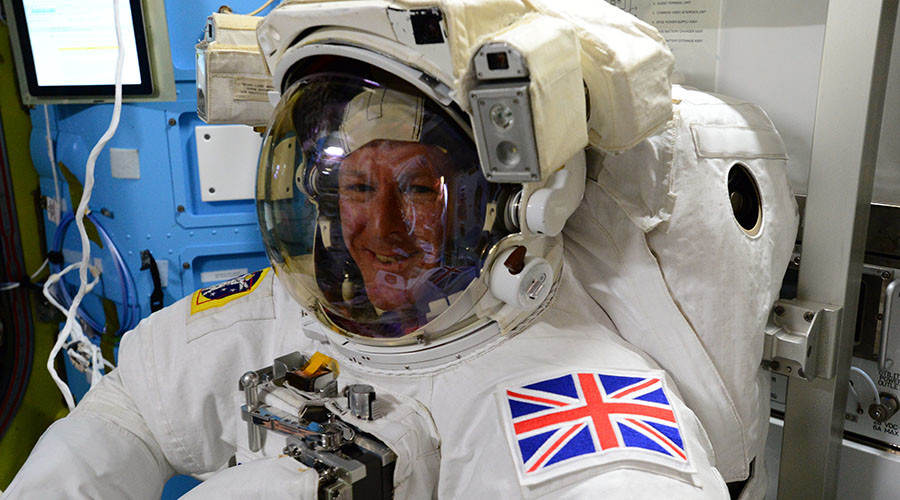 European Space Agency (ESA) astronaut Tim Peake. ©NASA