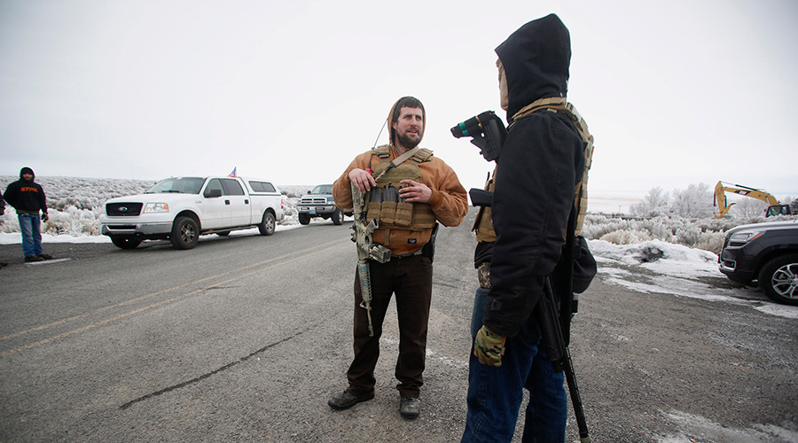 Oregon militia member arrested over stolen wildlife refuge vehicle – reports