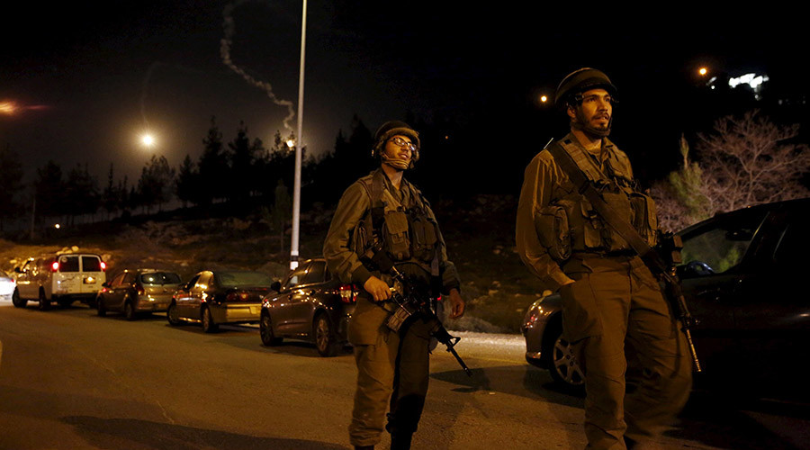 Israeli army sweeps West Bank after 'Palestinian terrorist' stabs mother of six at settlement