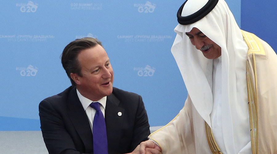 Cameron stands by Saudi regime, defends Yemen bombing campaign