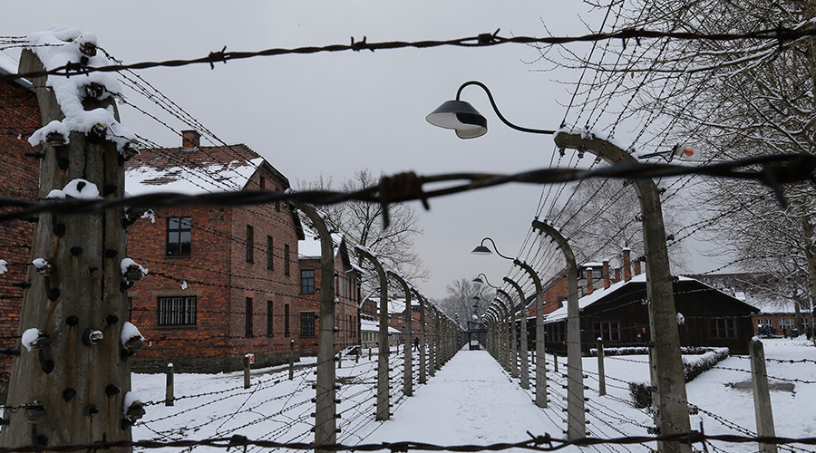 Picture shows a general view of the former Nazi German concentration and extermination camp Auschwitz in Oswiecim © Laszlo Balogh
