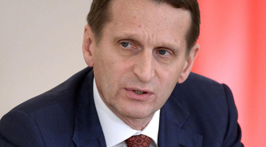 State Duma Speaker Sergei Naryshkin. ©Aleksey Nikolskyi
