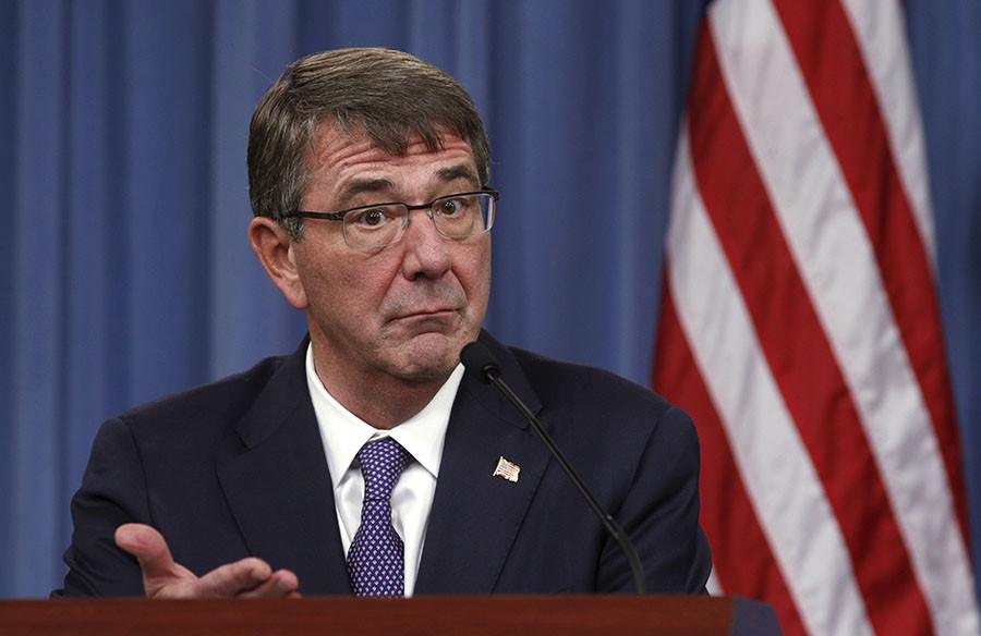 U.S. Defense Secretary Ash Carter. ©Kevin Lamarque