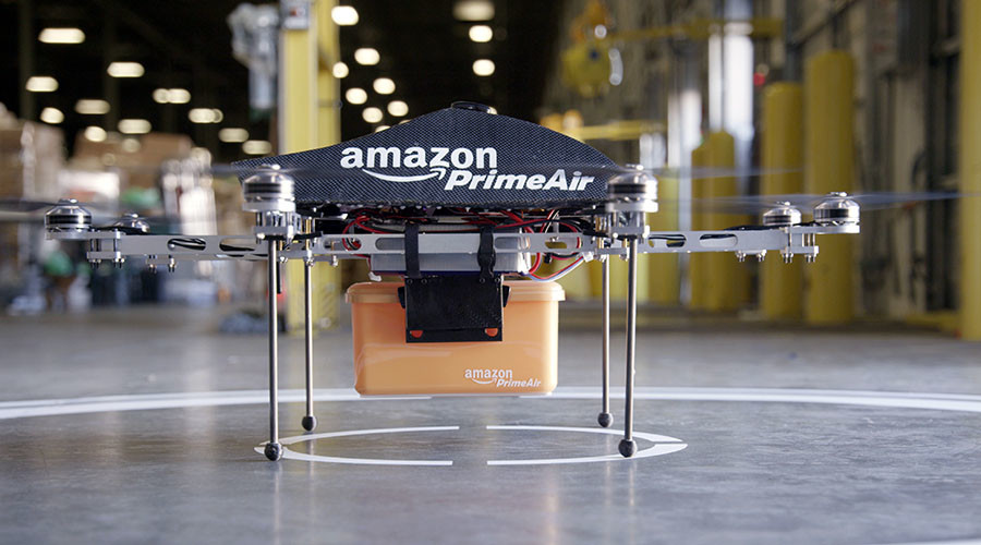 Horse-like drones: Amazon shares plans to deal with flight obstacles, haters with shotguns