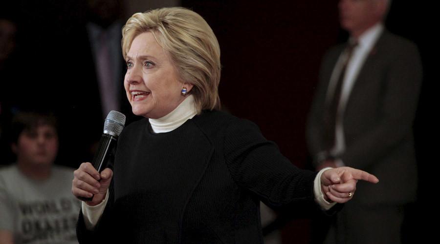 U.S. Democratic presidential candidate Hillary Clinton © Brian C. Frank