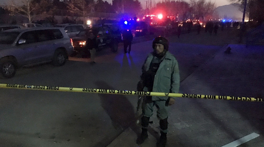 7 dead after suicide car bomb explodes near Russian embassy in Kabul (VIDEOS, PHOTOS)