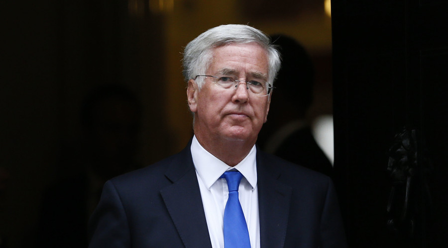 Defence Secretary Michael Fallon 'disturbed' by Russian airstrikes