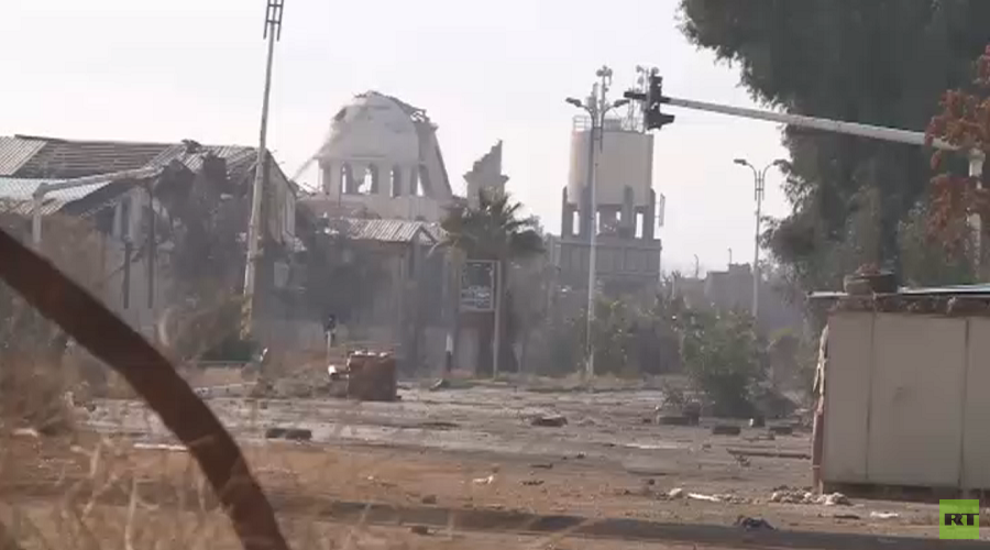 Al-Qadam district south of Damascus © RT Arabic