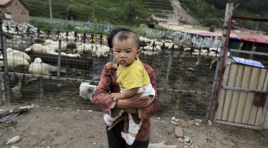 Chinese police bust child-trafficking ring, rescue 15 infants