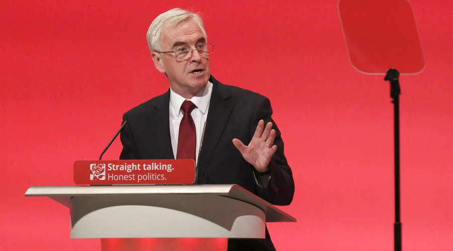 Employees should have right to buy shares in their workplace - shadow chancellor