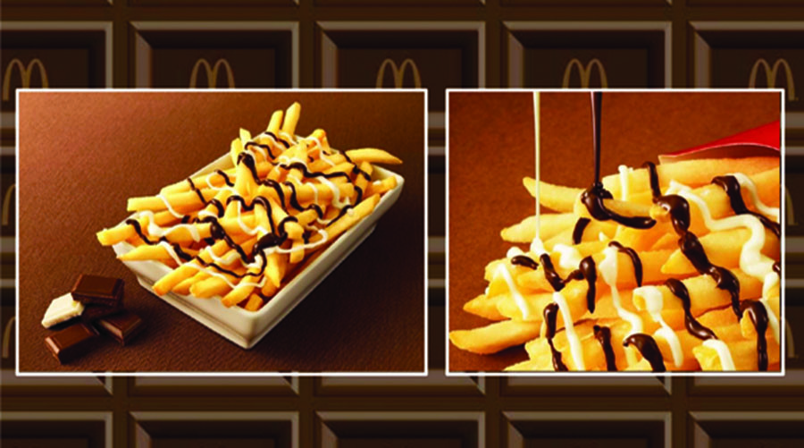 McDonald's Japan intros chocolate-covered fries
